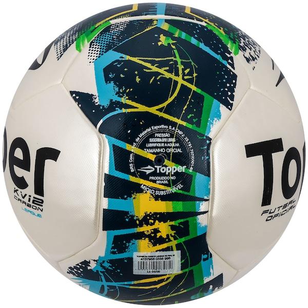 a071d4270754d Bola de Futsal Topper KV Carbon League