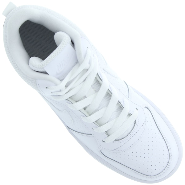 57d38b5f63 Tênis Cano Alto Nike Court Borough Mid - Infantil