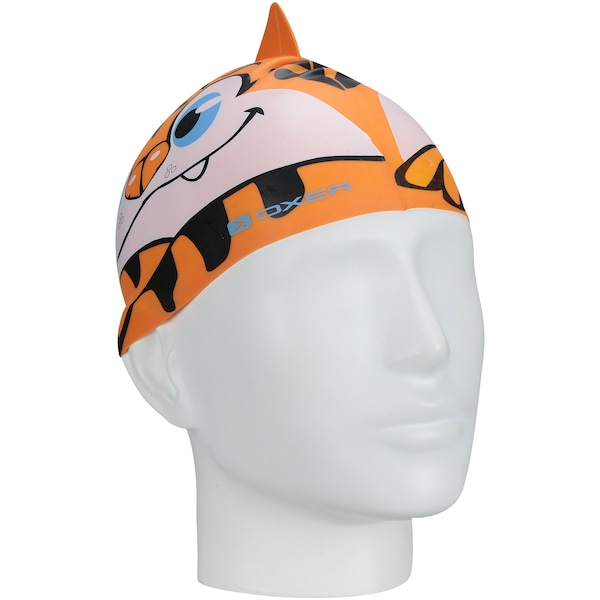 Kit de Natação Oxer Tiger Set com Óculos e Touca - Infantil