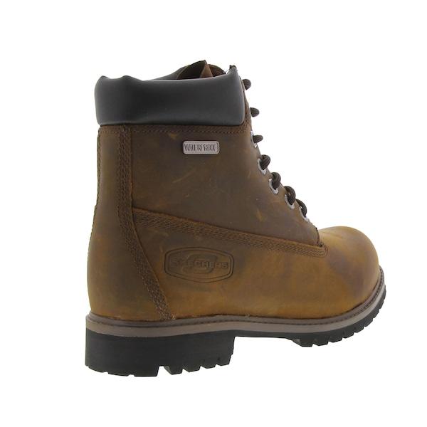 fa64477afed Bota Impermeável Skechers Rawling Dorson Waterproof - Masculina