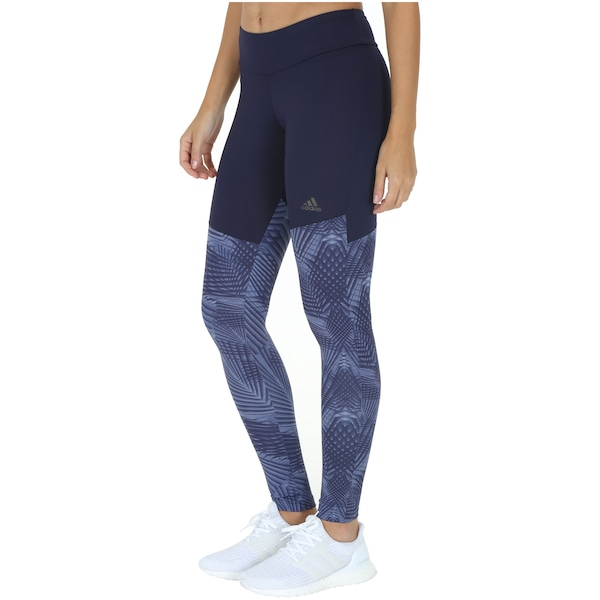 Calça Legging adidas Gráfica - Feminina