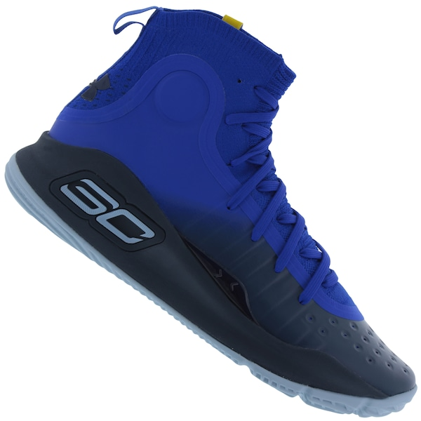 8816e2ac3 Tênis Cano Alto Under Armour Curry 4 - Masculino