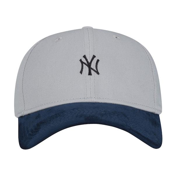 Boné Aba Curva New Era New York Yankees Mini Logo - Fechado - Adulto