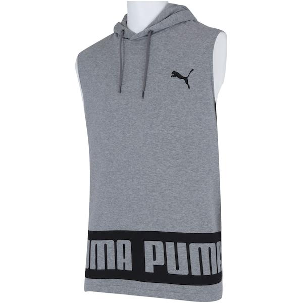 5e870070b8f Camiseta Regata com Capuz Puma Rebel HD TR - Masculina