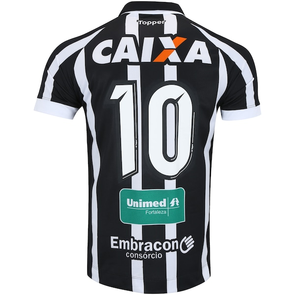 Camisa do Ceará I 2017 nº 10 Topper - Masculina fa67c775bf545