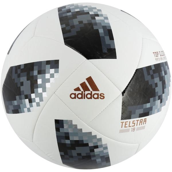 Bola de Futebol de Campo Telstar Oficial Copa do Mundo FIFA 2018 adidas Top Glider