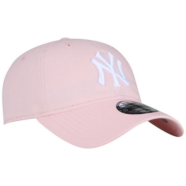 cb1ade74d3883 ... Boné Aba Curva New Era 920 New York Yankees ST Pastels Rosa - Strapback  - Adulto ...
