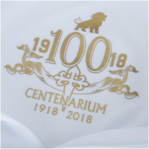 fe13ac28efe77 Camisa do Fortaleza 2018 nº 100 Edição Centenário Leão - Feminina