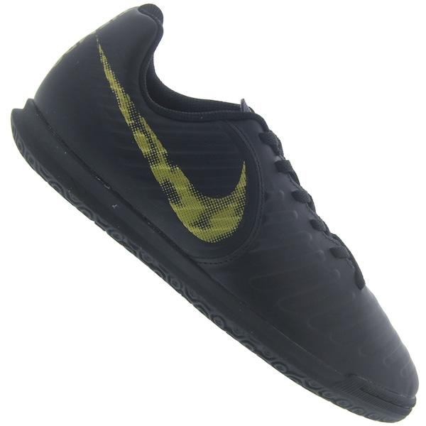 f5143935b2df9 Chuteira Futsal Nike Tiempo Legend X 7 Club IC - Infantil