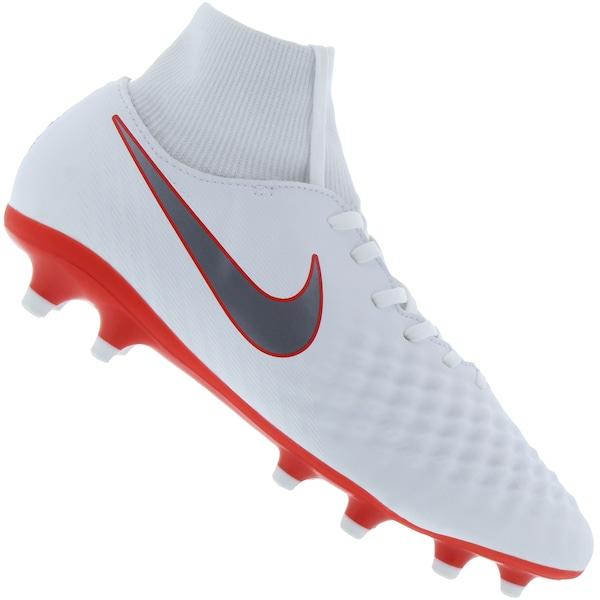 Chuteira de Campo Nike Magista Obra 2 Academy DF FG - Adulto ... e626c650d78f8