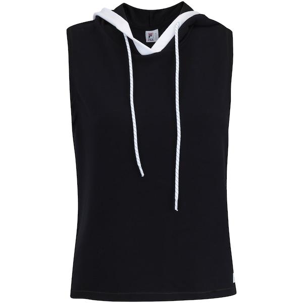 a6af462539 Camiseta com Capuz Estilo Colete Fila Vest Athenas - Feminina