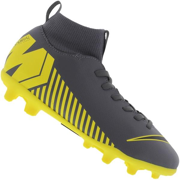 8f47bf8bb0e9c Chuteira de Campo Nike Mercurial Superfly 6 Club FG - Infantil