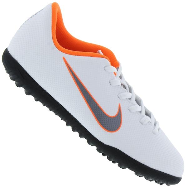 f0bd0629c1 Chuteira Society Nike Mercurial Vapor X 12 Club GS TF - Infantil