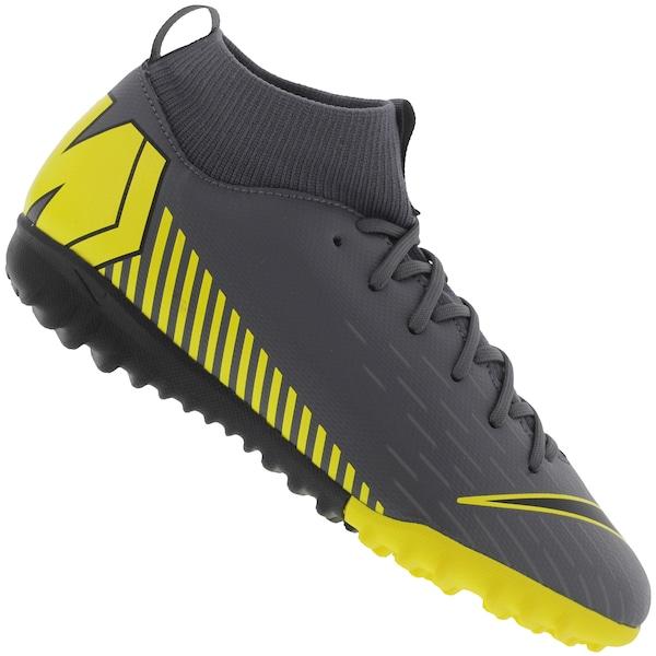96159d3eead6f Chuteira Society Nike Mercurial Superfly X 6 Academy GS TF - Infantil