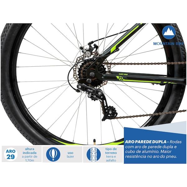 17aecd757 Mountain Bike Caloi Velox - Aro 29 - Freio a Disco Mecânico - 21 Marchas