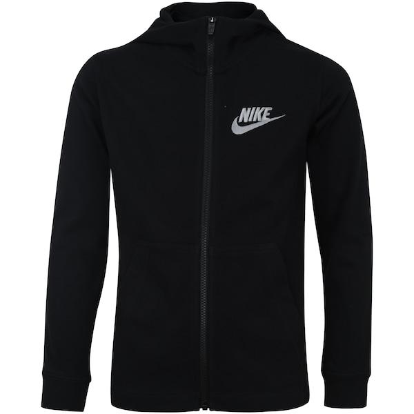 468f8e8611756 Jaqueta de Moletom com Capuz Nike Hoodie FZ JSY - Infantil