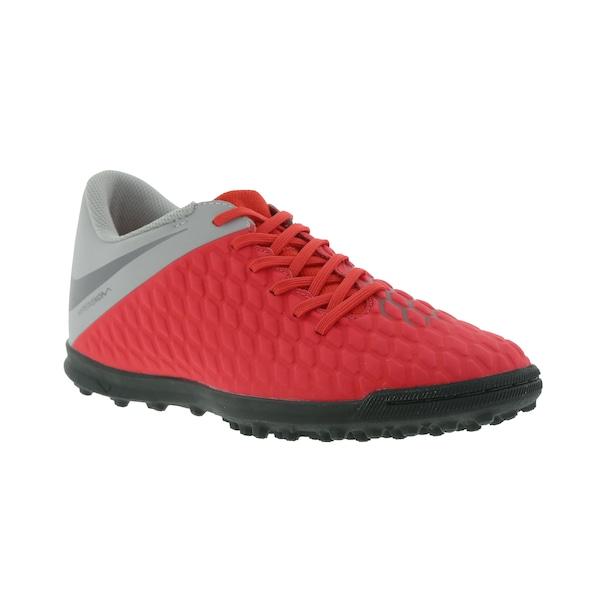 Chuteira Society Nike Hypervenom Phantom X 3 Club TF - Adulto