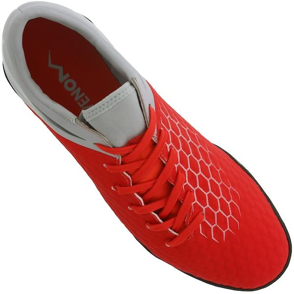 f7d3cbc8e3037 Chuteira Society Nike Hypervenom Phantom X 3 Academy TF - Adulto