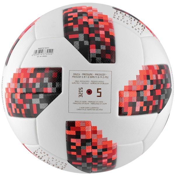 993adfbd84e99 Bola de Futebol de Campo Telstar Oficial Finais da Copa do Mundo FIFA 2018  adidas OMB