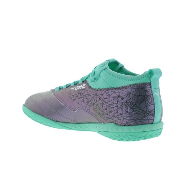 16ad4b81e Chuteira Futsal Puma One 3 IL Leather IC - Adulto
