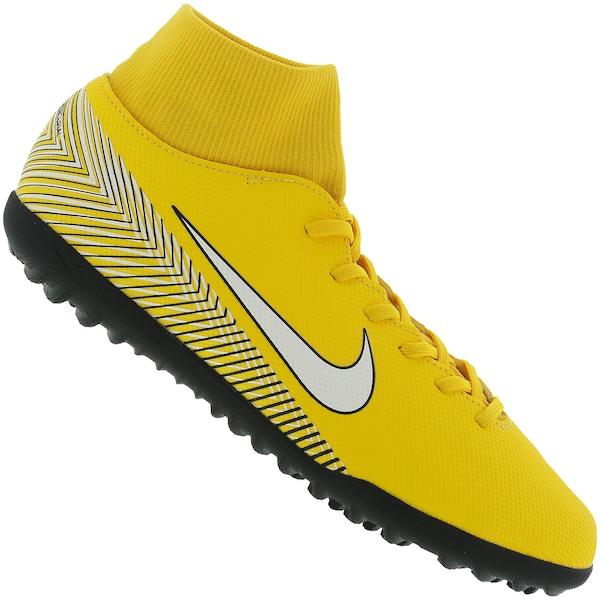 reputable site 8bfda 5b2b3 Chuteira Society Nike Mercurial Superfly X 6 Club Neymar Jr. TF - Adulto