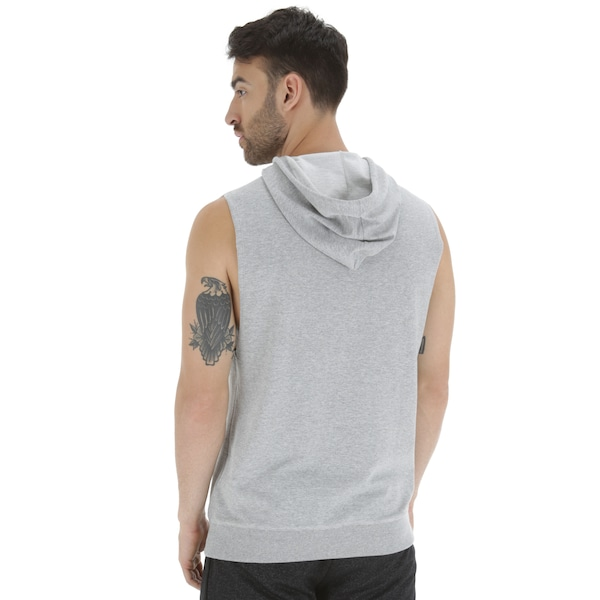 b0bfe9abe1f Camiseta com Capuz Estilo Colete Oxer Seven - Masculina