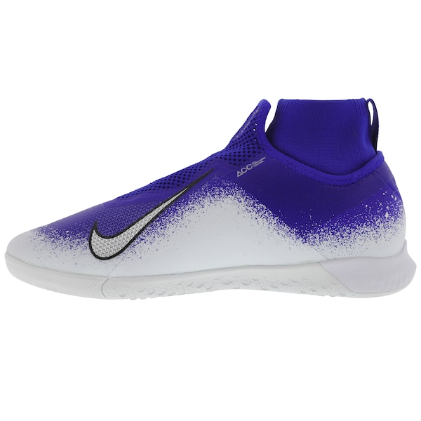 8e556b945f Chuteira Futsal Nike React Phantom VIVSN Pro DF IC - Adulto