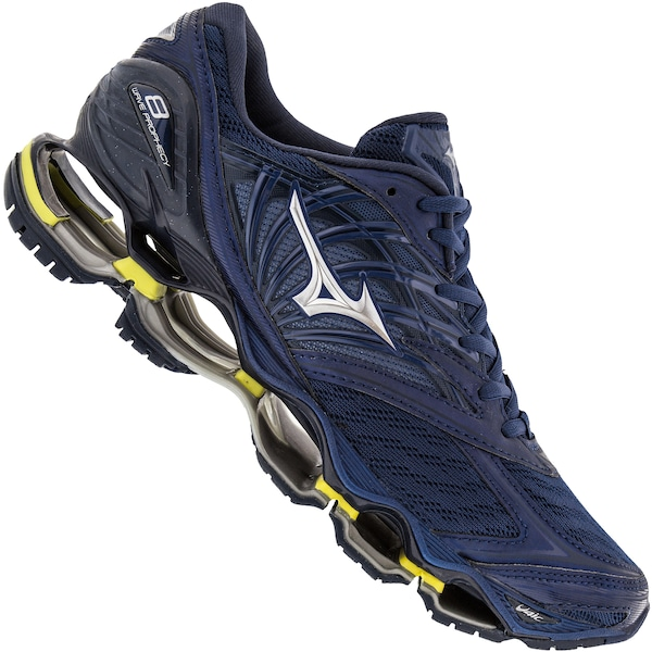mizuno men's running shoes size 9 youth gold trend vision