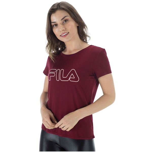Camiseta Fila Studio Train Wall - Feminina 45ed7dbd53a5e