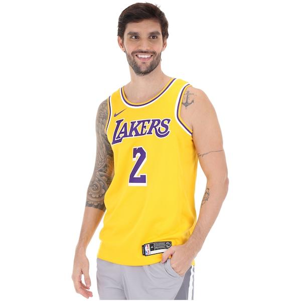 7f0a959b65930 Camisa Regata Nike NBA Los Angeles Lakers Icon Edition Swingman - Masculina