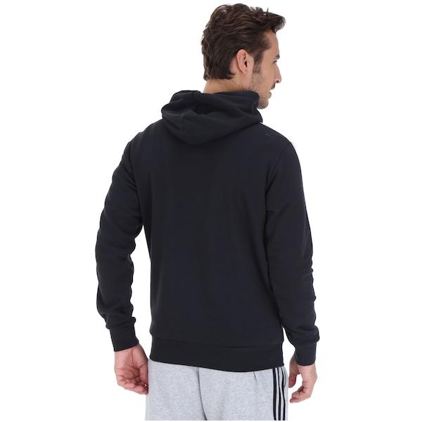 0167c0b252f Blusão de Moletom com Capuz adidas 3S Pullover French - Masculino