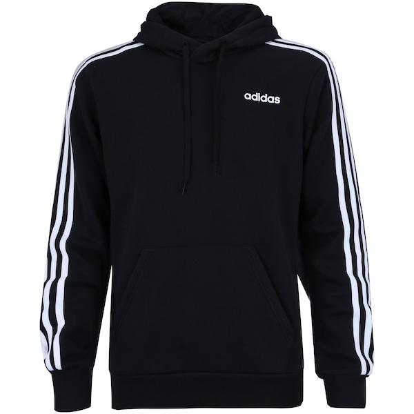 59766ed89c4 Blusão de Moletom com Capuz adidas 3S Pullover French - Masculino
