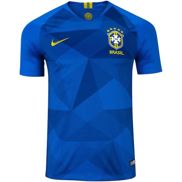 00d06ba81 Camisa da Seleção Brasileira II 2018 Nike nº 14 Tiago Silva - Masculina