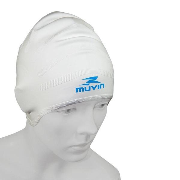 Touca de Natação em Silicone Muvin Orelha TCS-500 - Adulto 5a9e5d122e0