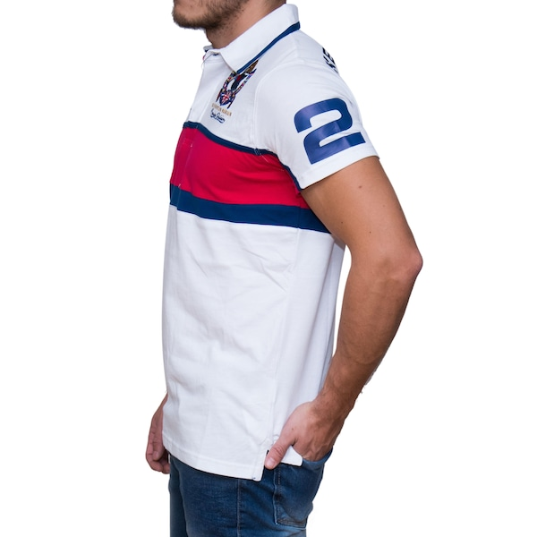 b635b2699 Camisa Polo Kevingston Taylor Rugby M C England - Masculina