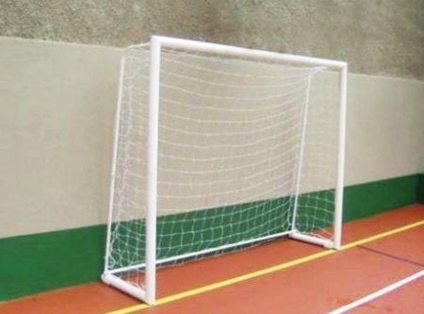 8d90ac20c1 Rede de Futsal Fio 4mm Nylon - 1 Par
