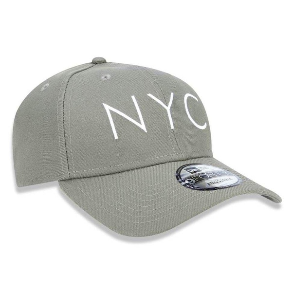 4c74261ca2aa0 Boné Aba Curva New Era 940 NYC New York City - Snapback - Adulto