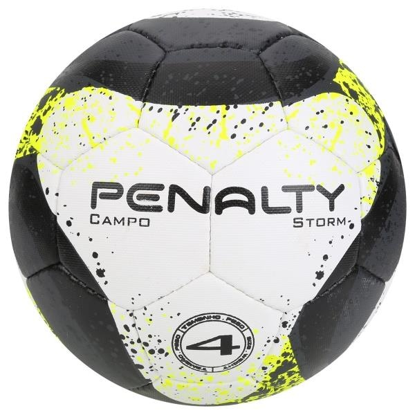 Bola de Futebol de Campo Oficial Penalty Storm VII Costurada Nº4 - Infantil 5d8f75f5637b5