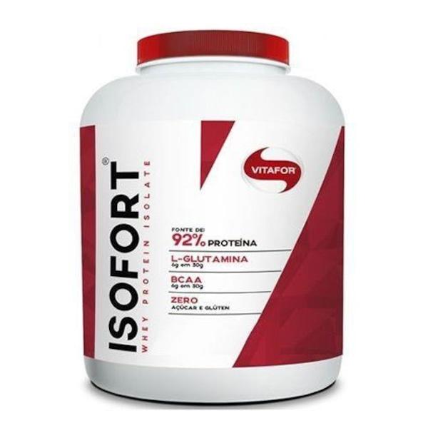 8a703489e Whey Protein Isolado Vitafor Isofort - Baunilha - 1