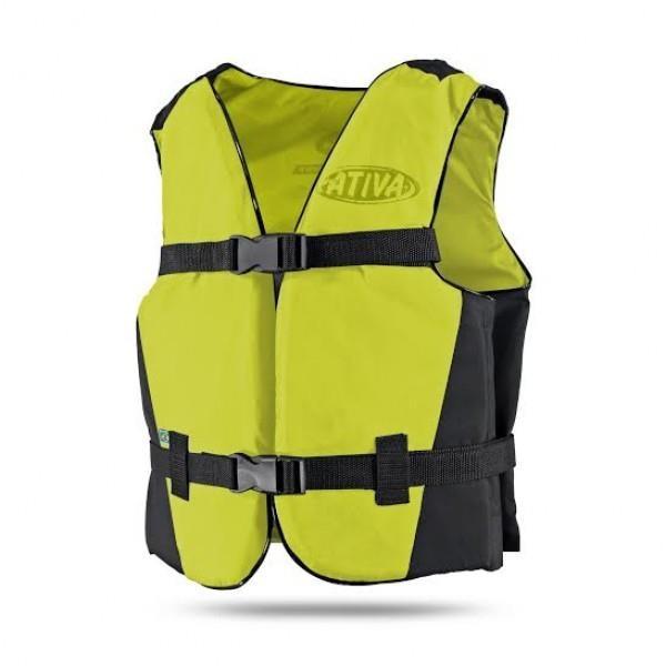 d20bddb44a Colete Salva-Vidas Ativa Canoa Flutuador - Até 30Kg - Infantil