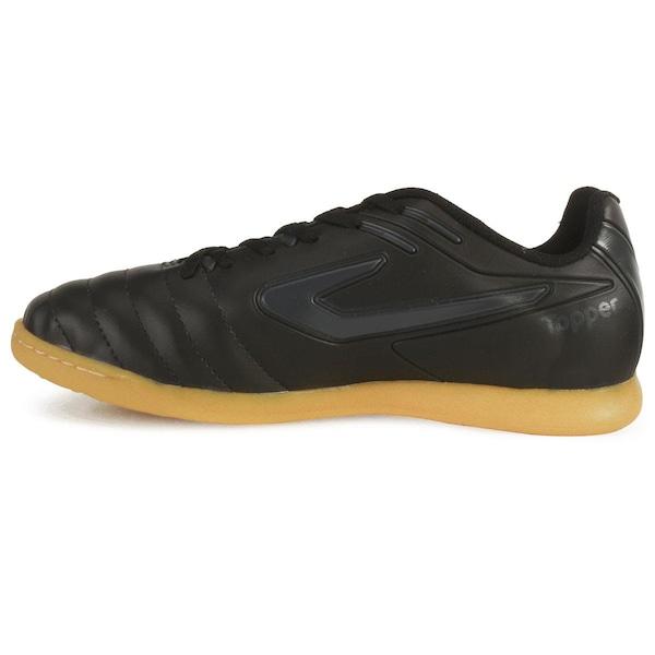 1261e33fb44f0 Chuteira Futsal Topper Boleiro - Adulto