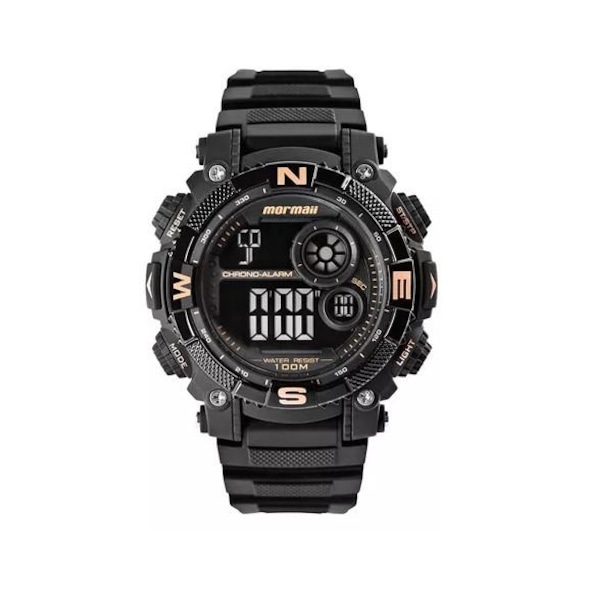 7d8e9218451 Relógio Digital Mormaii MO12579D8J - Masculino