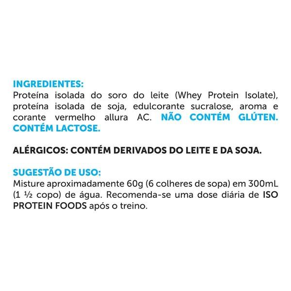 42180fe4087 Iso Protein BRN Foods - Morango - 2Kg