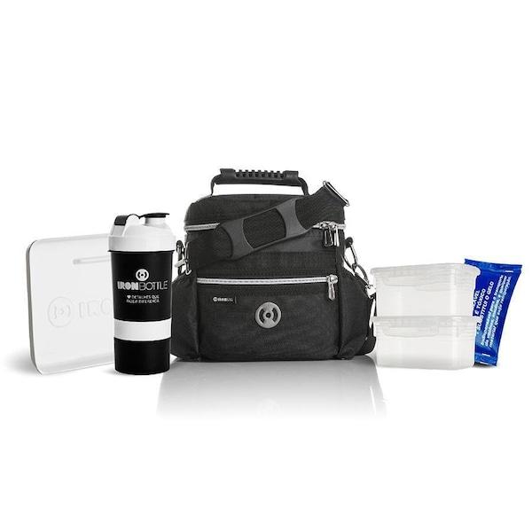 c81ad0de7 Bolsa Térmica Fitness Iron Bag Pop - 2 Potes - 5 Litros + Coqueteleira -  500ml