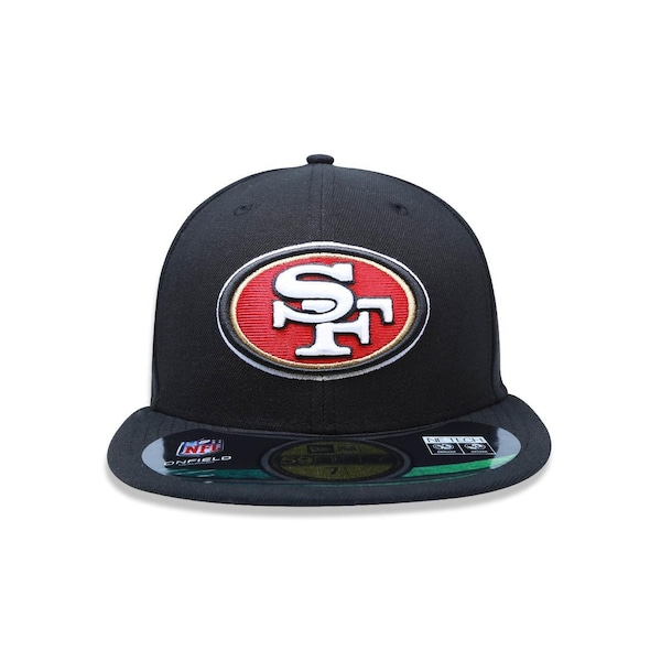 96e595545c6d6 Boné Aba Reta New Era 5950 NFL San Francisco 49Ers 20580 - Fechado - Adulto
