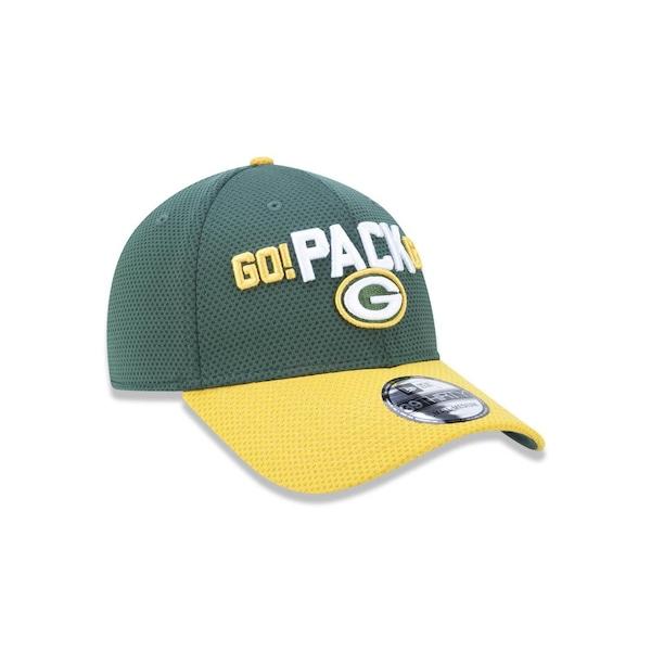 99a45e4843f96 Boné New Era 3930 NFL Green Bay Packers 43443 - Fechado - Adulto