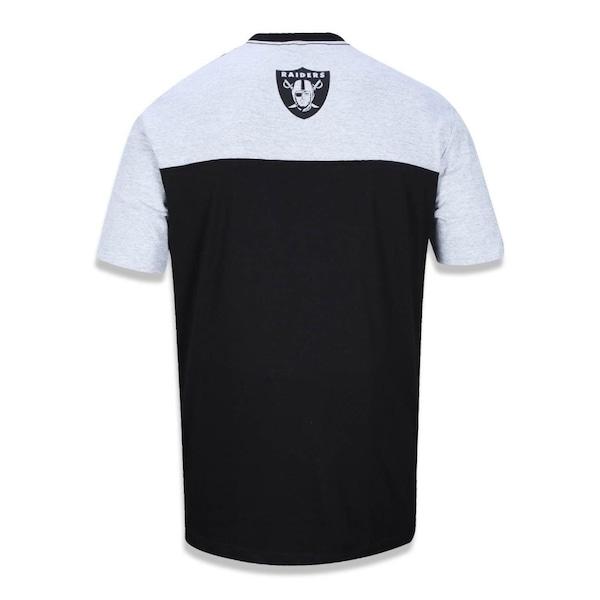 853403d90 Camiseta New Era NFL Oakland Raiders 39697 - Masculina