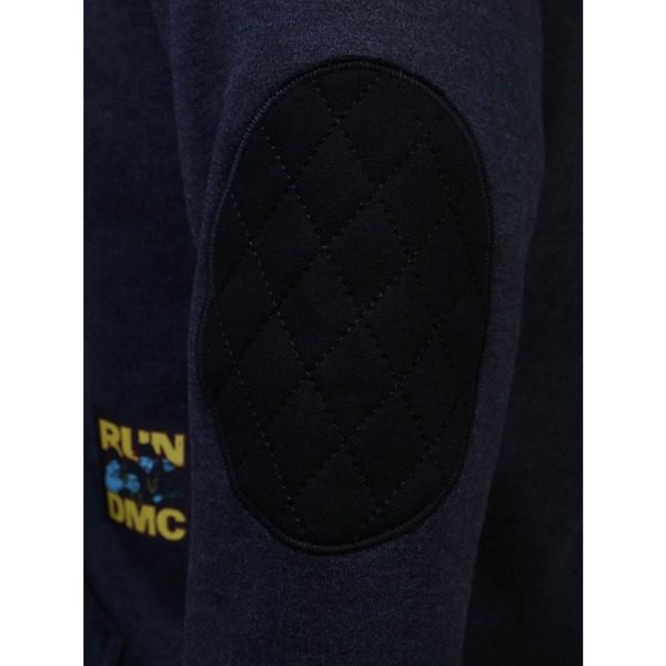 09c16dc6e4a14 Blusão de Moletom com Capuz New Era RUN DMC 42518 - Masculino