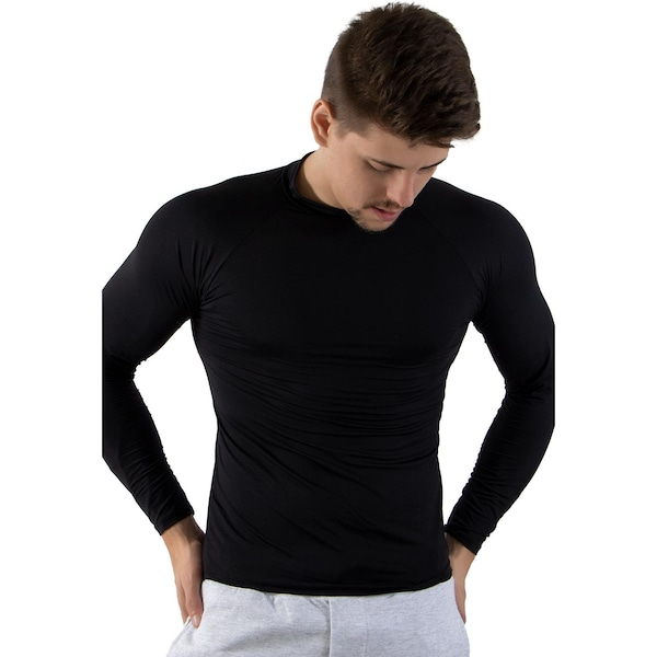Camiseta Segunda Pele Manga Longa Calif Térmica com Proteção UV 50+ -  Masculina b629c4c5a66dc