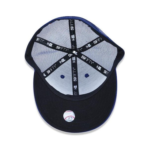 4a4706195a9ff Boné Aba Reta 5950 New Era Los Angeles Dodgers MLB 44769 - Trucker -  Fechado - Adulto